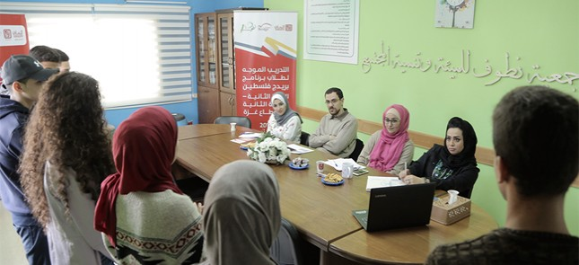 Natuf launching the activities of the second year of Bridge Palestine program for the second cohort