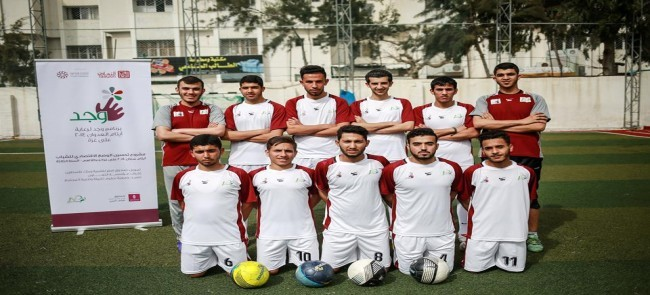 Within the sponsorship of talents: Natuf forms ' wajd youth team ' for football