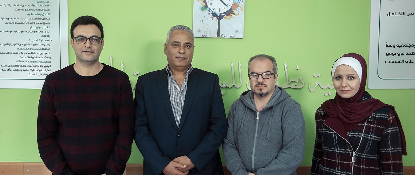 Natuf welcome the Director of the European Union Office in Gaza