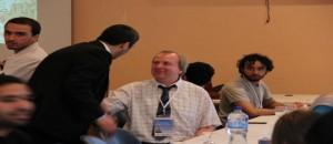 Meeting Between Al Fakhora Studant and British Students
