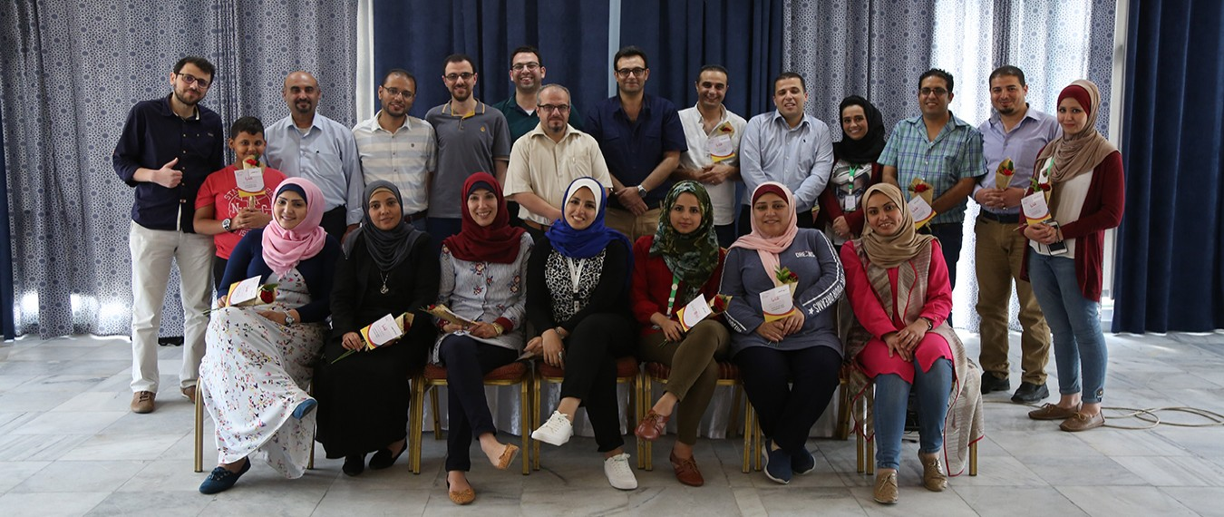 Natuf round off the selection camp activities for the second cohort of Bridge Palestine program